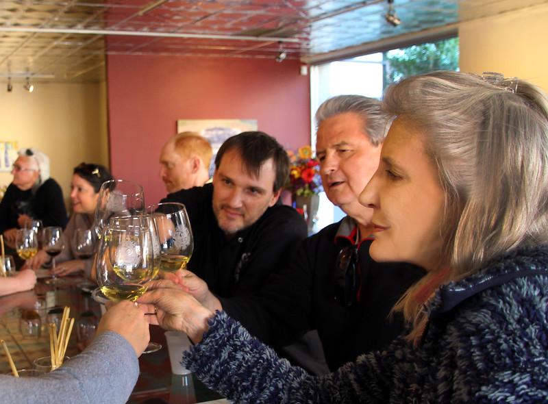 Arizona, Scottsdale, Old Town, Carlson Creek Wine Tasting