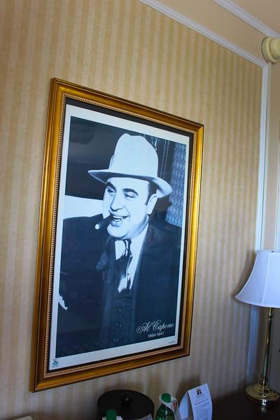 Hot Springs Arkansas, Al Capone Suite, The Arlington Hotel & Spa