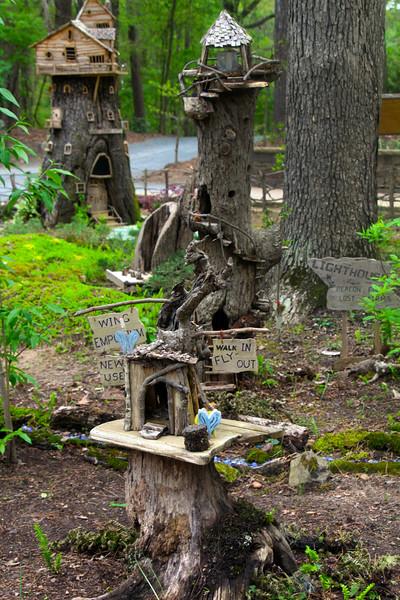Hot Springs Arkansas, Garvan Woodland Gardens, Fairy Garden