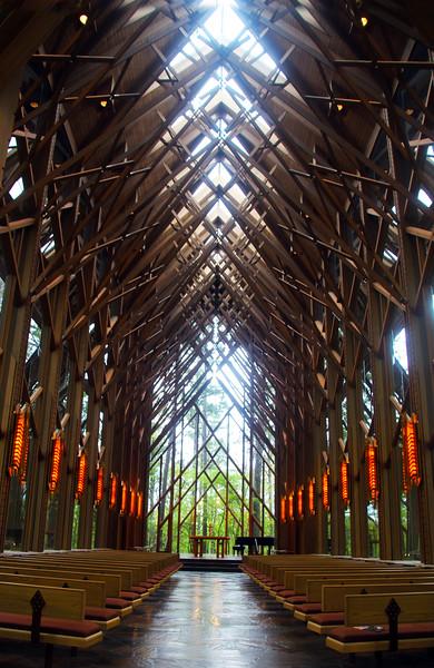 Hot Springs Arkansas, Garvan Woodland Gardens, Anthony Chapel