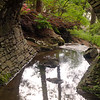 Hot Springs Arkansas, Garvan Woodland Gardens, Stone Bridge, Reflections