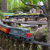 Hot Springs Arkansas, Garvan Woodland Gardens, Miniature Railroad Display