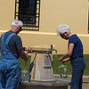 Hot Springs Arkansas, Collecting Mineral Water in Public Fountain