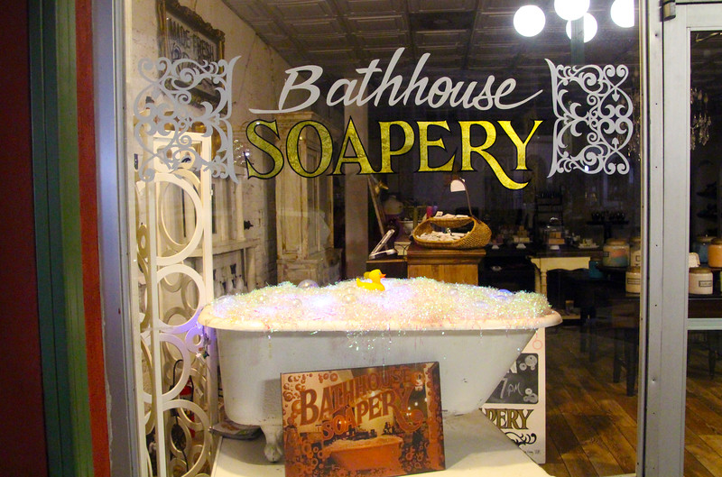 Hot Springs Arkansas, Bathhouse Soapery Store