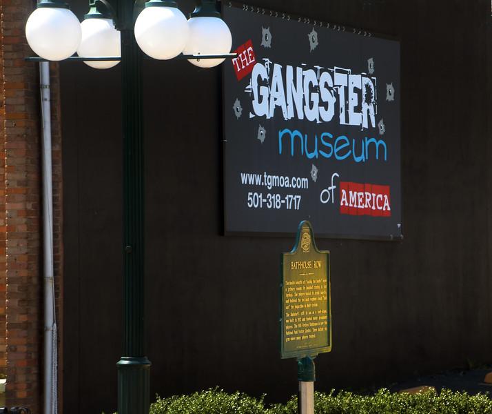 Hot Springs Arkansas, Gangster Museum Exterior