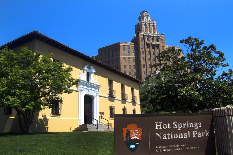 Hot Springs Arkansas, Hot Springs National Park Headquarters