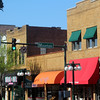 Hot Springs Arkansas, Colorful Shops Along Central Avenue