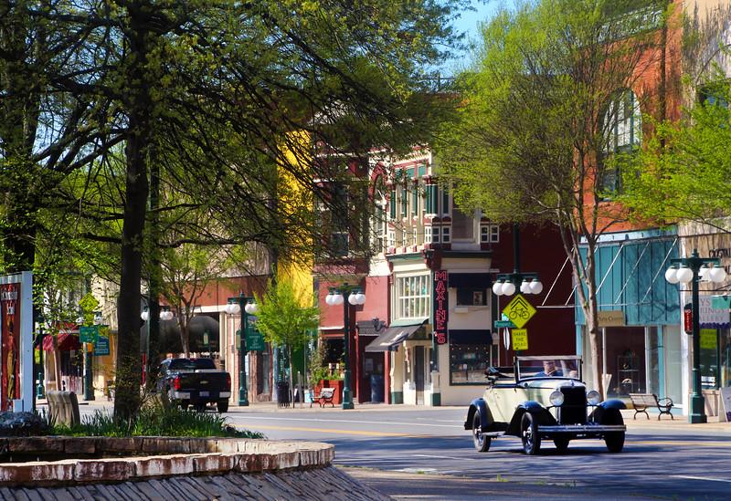 Hot Springs Arkansas, Classic Car, Central Avenue