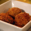 Hot Springs Arkansas, Luna Bella Restaurant, Sicilian Arancini Rice Balls