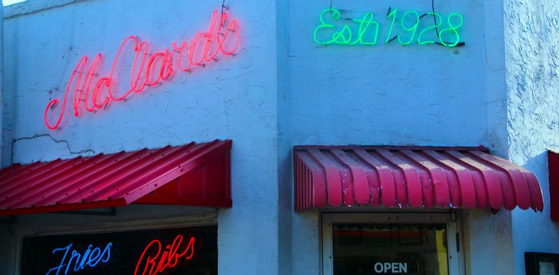 Hot Springs Arkansas, McClard's Bar-B-Q Restaurant