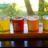 Hot Springs Arkansas, Superior Bathhouse Brewery and Distillery, Flight of Beer Samples