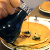 Hot Springs Arkansas, The Pancake Shop, Blueberry Pancake Stack