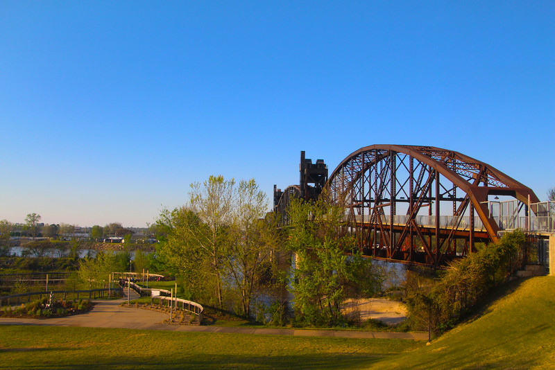 Little Rock Arkansas, Clinton Presidential Bridge