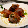 Richard's Restaurant, stuffed figs wrapped with prociutto