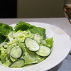 Richard's Restaurant, Garden salad with creamy feta dressing