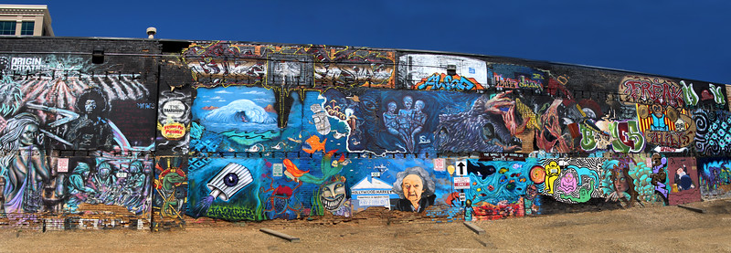 Boise, Freak Alley, Panorama 2