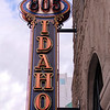 Boise, Vintage Theatre Sign