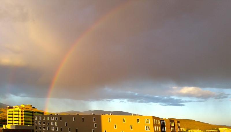Boise, Rainbow view