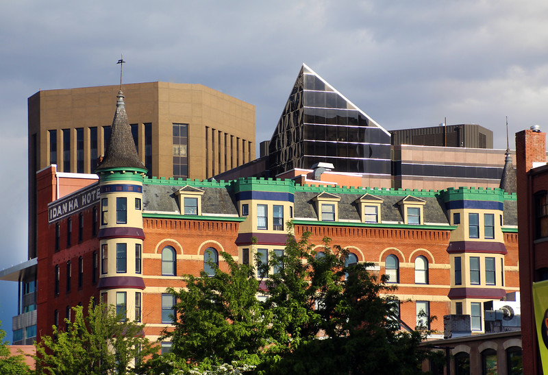 Boise, Downtown, Old and New