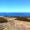Acadia National Park, Panorama from Cadillas Mountain