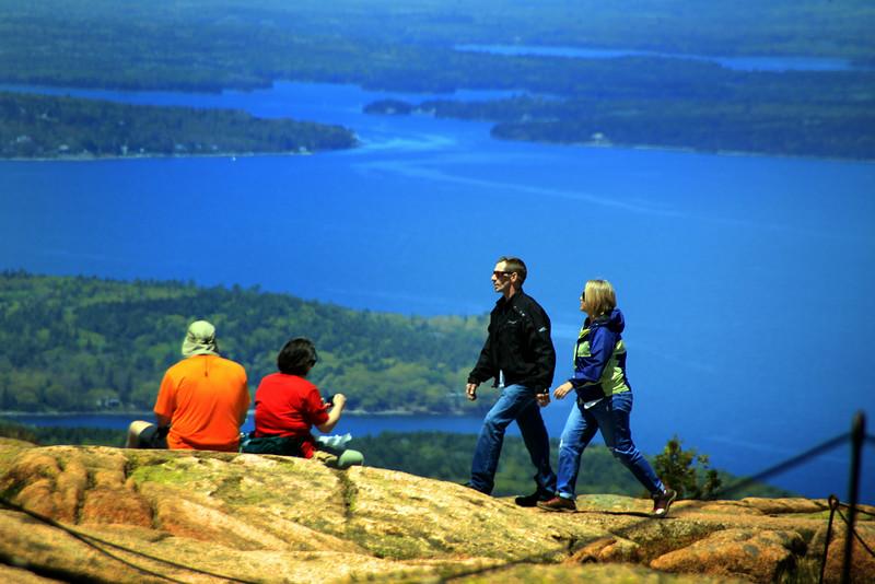 Acadia National Park, Couples on Cadillac Mountain