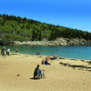 Acadia National Park, Sand Beach View
