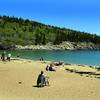 Acadia National Park, Sand Beach View