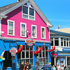 Bar Harbor Maine, Colorful Shops &  Eateries