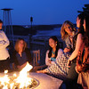 Looking Glass Restaurant, Bluenose Inn, enjoying the firepit and view