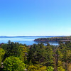 Bar Harbor Maine, Panorama from Bluenose Inn
