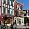 Bar Harbor Maine, Street Scene