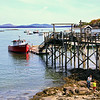 Bar Harbor Maine, View from Pier