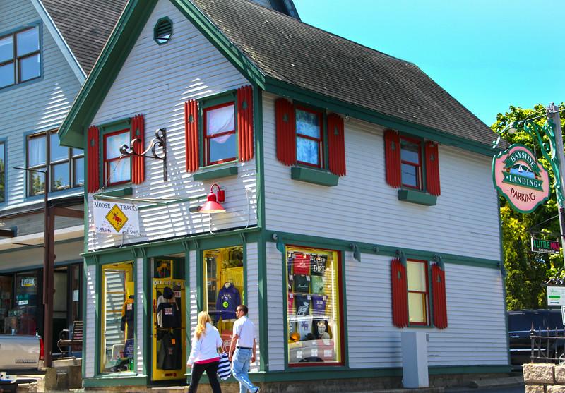 Bar Harbor, Maine, Bayside Landing Shops