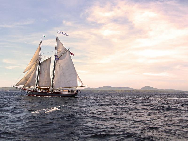 Camden Maine, Schooner Lewis R. French