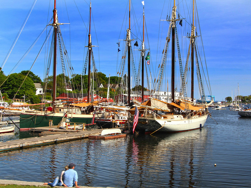 Camden May, Romantic View on Historic Windjammers