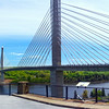 Hancock County Maine, Penobscot Narrows Bridge Panorama