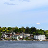 Bucksport Maine, View across Penobscot River