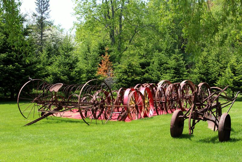 Maine, Antique Plows
