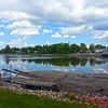 Kennebunkport Maine, Reflection in Kennebunkport River
