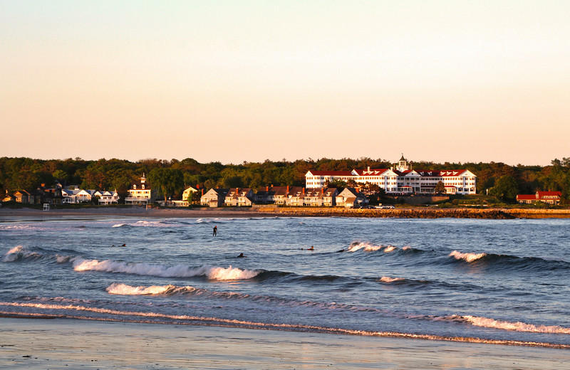 Kennebunk Maine, Beach at Dusk