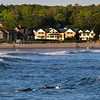 Kennebunk Maine, Srufers in Wave