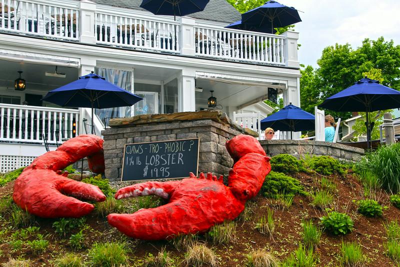 Kennebunkport Maine, Lobster Restaurant Ad