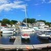 Kennepunkport Maine, View onto Dock