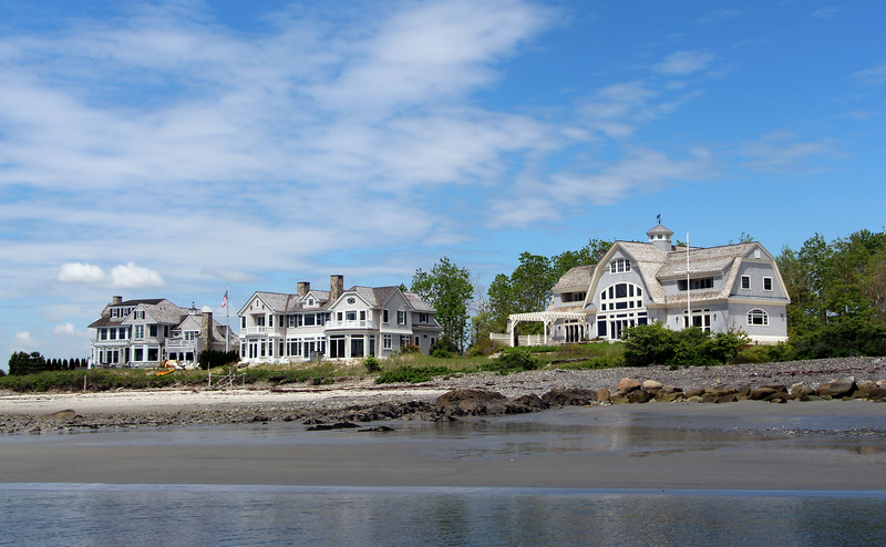Kennbunkport Maine, Seaside Mansions
