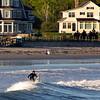 Kennebunk Maine, Surfer in Wave