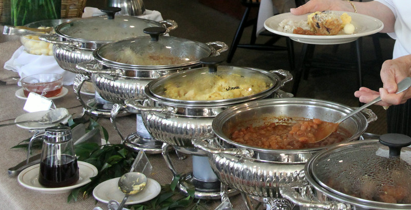Freeport Maine, Harakeeset Inn, Breakfast Buffet