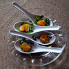 Harraseeket Inn, Scallops with Carrot Relish