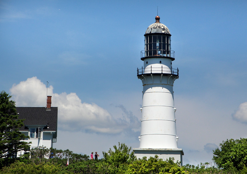 Cape Elizabeth Maine, Cape Elizabeth Light and Horn
