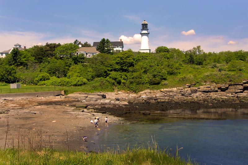 Portland Maine, Cape Elizabeth Light House & Horn