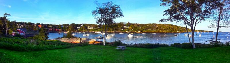 Rockport Maine, Harbor Panorama
